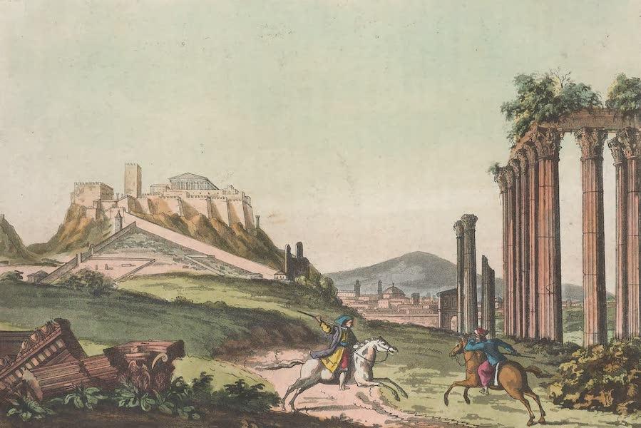 Le Costume Ancien et Moderne [Europe] Vol. 1, Pt. 1 - IX. Vue d'Athenes (1817)