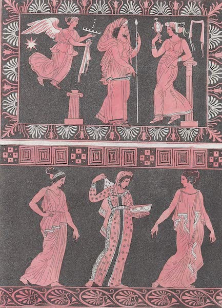 Le Costume Ancien et Moderne [Europe] Vol. 1, Pt. 1 - XVIII. Vetemens des Reines (1817)