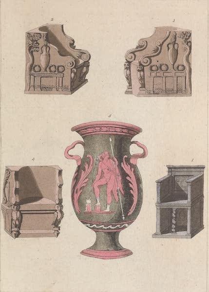 Le Costume Ancien et Moderne [Europe] Vol. 1, Pt. 1 - XIX. Trones, sceptres, herauts (1817)