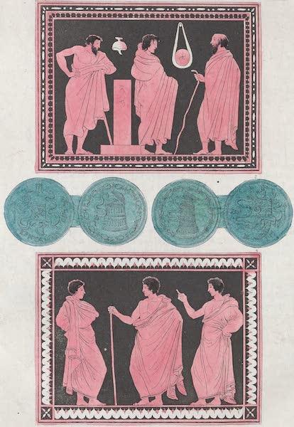 Le Costume Ancien et Moderne [Europe] Vol. 1, Pt. 1 - XX. Archontes dans l'exercice de leurs fonctions (1817)