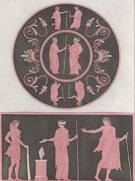 Le Costume Ancien et Moderne [Europe] Vol. 1, Pt. 1 - XXI. Vases representans Hercule (1817)