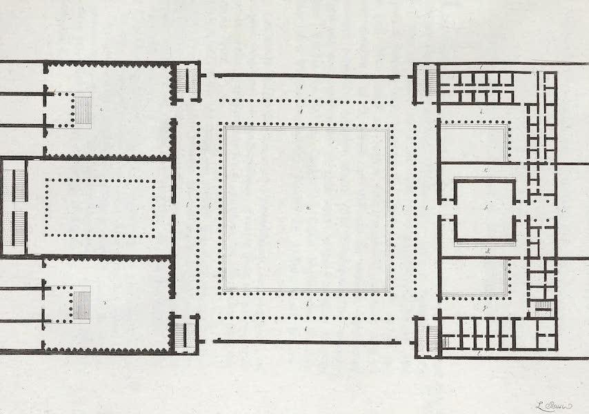 Le Costume Ancien et Moderne [Europe] Vol. 1, Pt. 1 - XXII. Forum d'Athenes (1817)