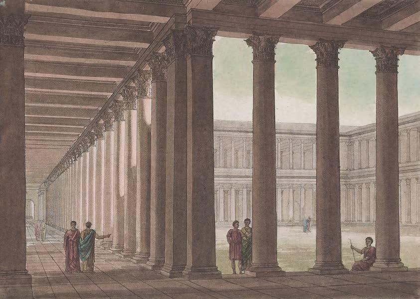 Le Costume Ancien et Moderne [Europe] Vol. 1, Pt. 1 - XXIII. L'elevation du Forum d'Athenes (1817)