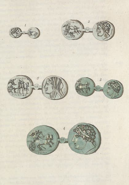 Le Costume Ancien et Moderne [Europe] Vol. 1, Pt. 1 - XXVI. Portraits de Hieron, Gelon etc. (1817)