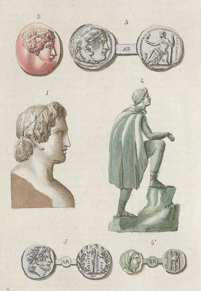 Le Costume Ancien et Moderne [Europe] Vol. 1, Pt. 1 - XXVII. Portraits d'Alexandre (1817)