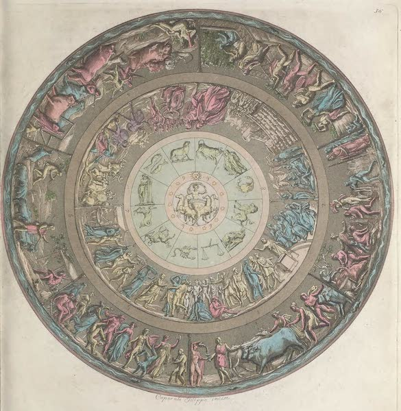 Le Costume Ancien et Moderne [Europe] Vol. 1, Pt. 1 - XXXVI. Bouclier d'Achille (1817)