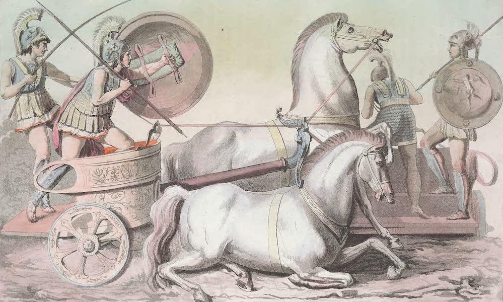 Le Costume Ancien et Moderne [Europe] Vol. 1, Pt. 1 - XXXIX. Guerriers avec des chars (1817)