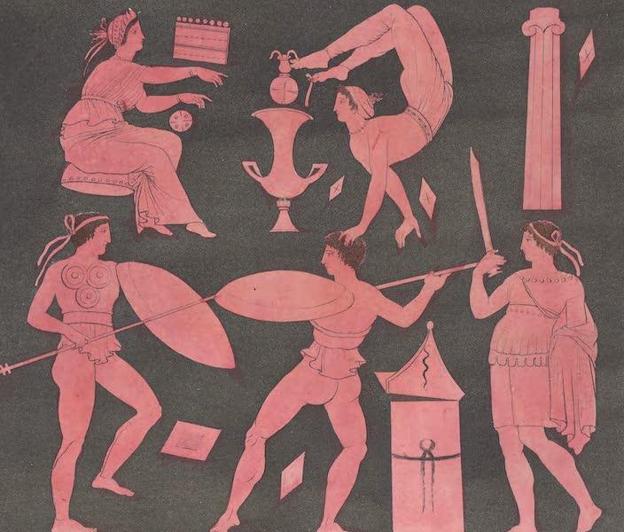 Le Costume Ancien et Moderne [Europe] Vol. 1, Pt. 1 - XLI. Danse pyrrhique (1817)