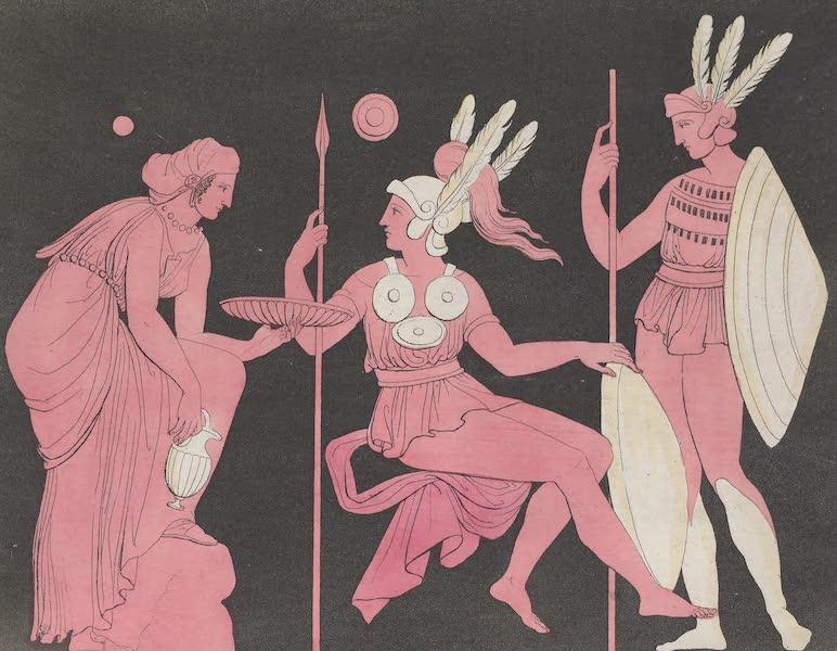 Le Costume Ancien et Moderne [Europe] Vol. 1, Pt. 1 - XLII. Casques, armures, labarum (1817)