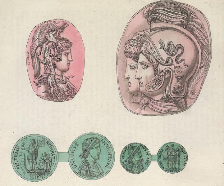 Le Costume Ancien et Moderne [Europe] Vol. 1, Pt. 1 - XLIII. Guerriers avec les casques ornes de plumes etc. (1817)