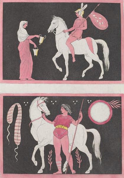 Le Costume Ancien et Moderne [Europe] Vol. 1, Pt. 1 - XLV. Maniere de monter a cheval [II] (1817)