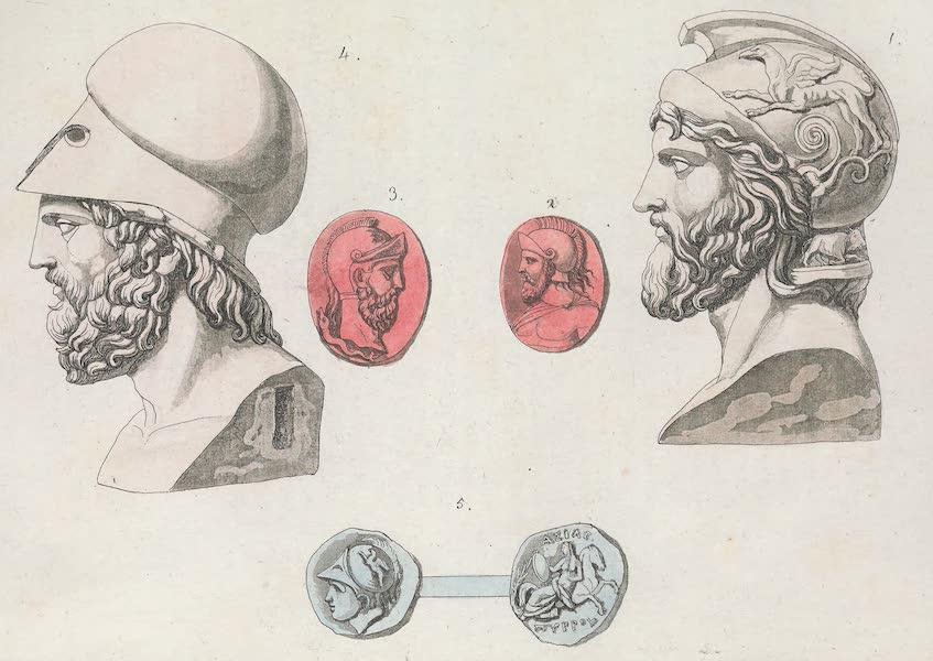 Le Costume Ancien et Moderne [Europe] Vol. 1, Pt. 1 - XLVI. Miltiade, Themistocle etc. (1817)