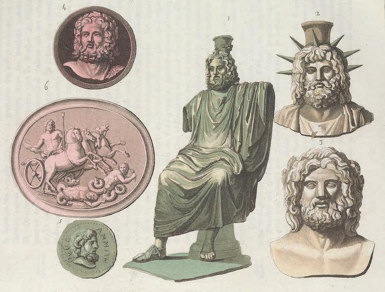 Le Costume Ancien et Moderne [Europe] Vol. 1, Pt. 1 - LI. Jupiter represente sous ses principaux attributs  (1817)