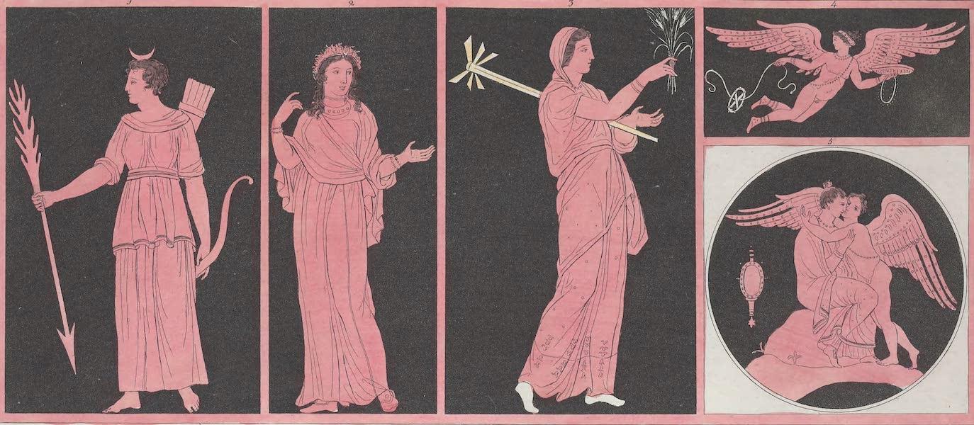 Le Costume Ancien et Moderne [Europe] Vol. 1, Pt. 1 - LIV. No. 1. Diane, Proserpine, Ceres, Iris etc. (1817)