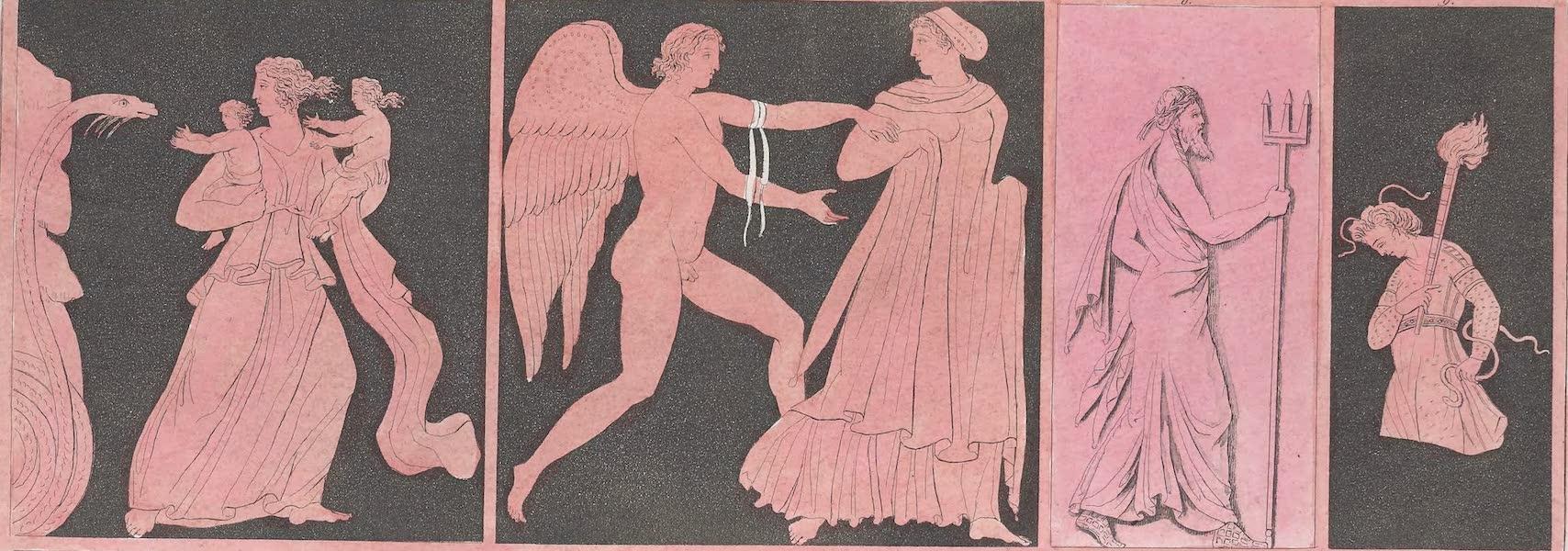 Le Costume Ancien et Moderne [Europe] Vol. 1, Pt. 1 - LIV. No. 2. Morphee, Neptune, une des Furies (1817)