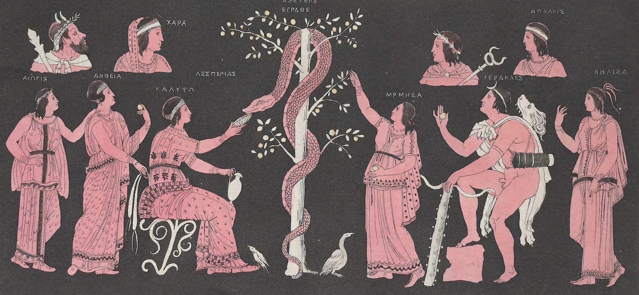 Le Costume Ancien et Moderne [Europe] Vol. 1, Pt. 1 - LVI. L'onzieme entreprise d'Hercule (1817)