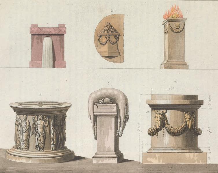 Le Costume Ancien et Moderne [Europe] Vol. 1, Pt. 1 - LIX. Autels (1817)
