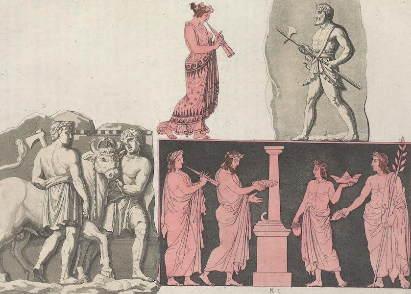 Le Costume Ancien et Moderne [Europe] Vol. 1, Pt. 1 - LXV. Libations (1817)