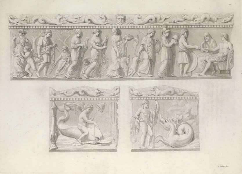 Le Costume Ancien et Moderne [Europe] Vol. 1, Pt. 1 - LXVI. Noces de Thebis avec Pelee (1817)