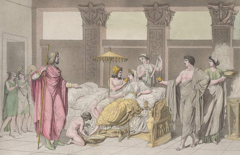Le Costume Ancien et Moderne [Europe] Vol. 1, Pt. 1 - LXVII. Noces de Penelope eu d'Ulysse (1817)