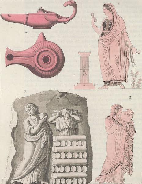 Le Costume Ancien et Moderne [Europe] Vol. 1, Pt. 1 - LXX. Libation funeraire (1817)