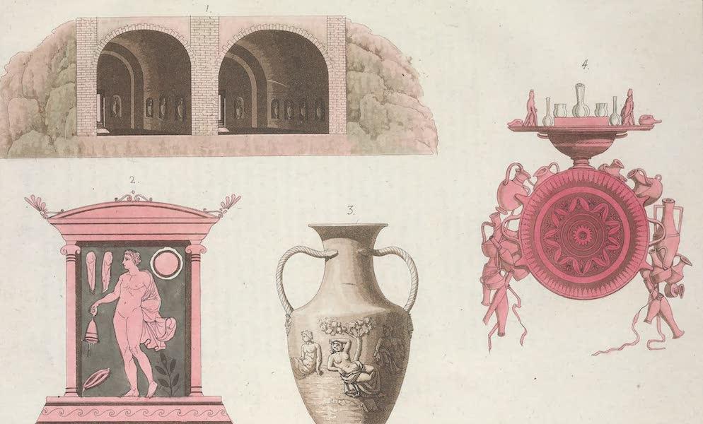 Le Costume Ancien et Moderne [Europe] Vol. 1, Pt. 1 - LXXI. Tombeaux, urnes, vases (1817)