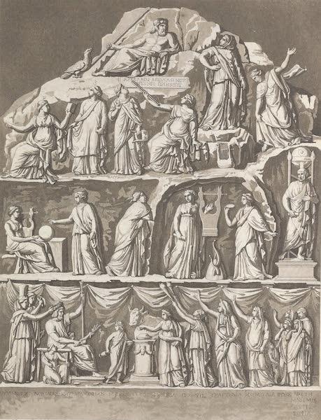 Le Costume Ancien et Moderne [Europe] Vol. 1, Pt. 1 - LXXIII. Apotheose d'Homer (1817)