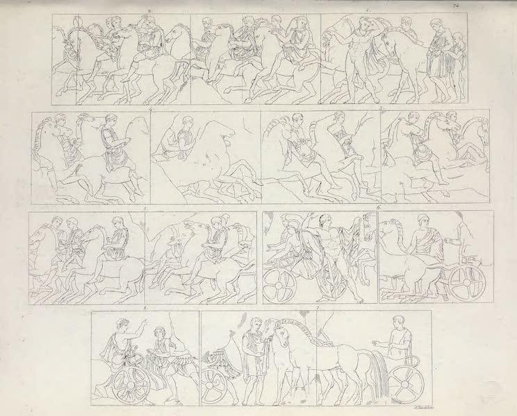 Le Costume Ancien et Moderne [Europe] Vol. 1, Pt. 1 - LXXIV. Les Panathenees [I] (1817)