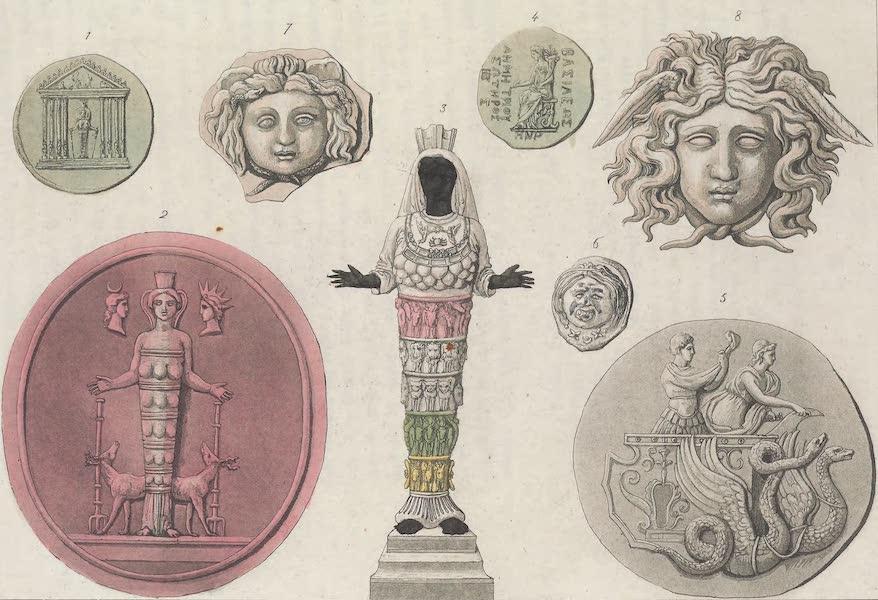 Le Costume Ancien et Moderne [Europe] Vol. 1, Pt. 1 - LXXVII. Diane d'Ephese etc. (1817)