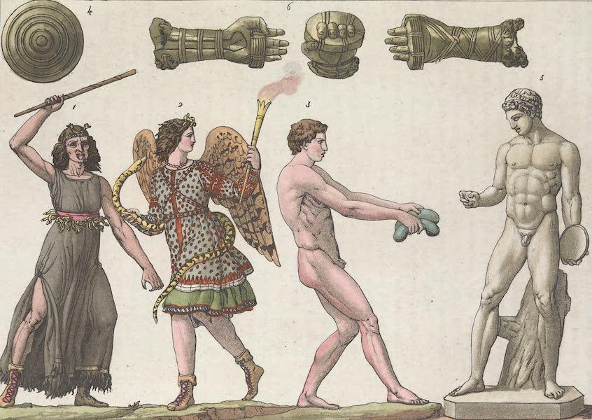 Le Costume Ancien et Moderne [Europe] Vol. 1, Pt. 1 - LXVIII. Ceremonies Eleusines etc. [I] (1817)