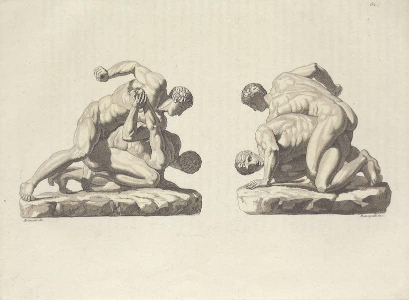 Le Costume Ancien et Moderne [Europe] Vol. 1, Pt. 1 - LXXXII. Pancratiastes du Musee de Florence (1817)