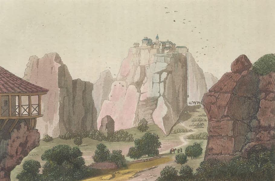 Le Costume Ancien et Moderne [Europe] Vol. 1, Pt. 1 - LXXXV. Couvent en Thessalie, appele Meteora (1817)