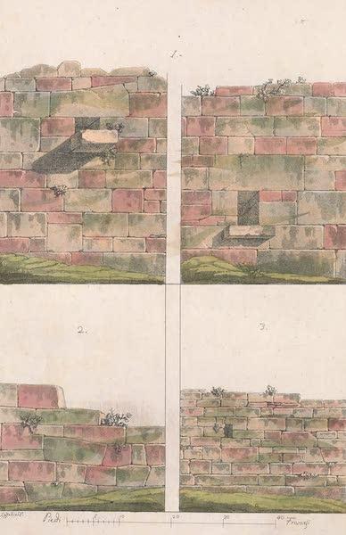 Le Costume Ancien et Moderne [Europe] Vol. 2 - I. N° 2. Murs de Volterra et de Fiesole (1820)