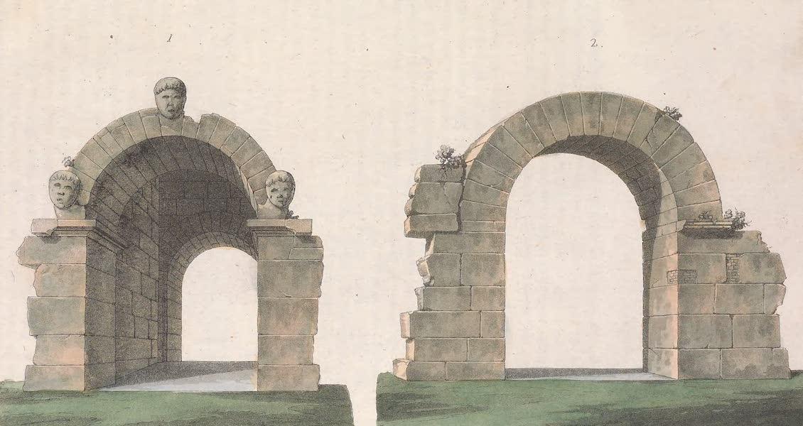 Le Costume Ancien et Moderne [Europe] Vol. 2 - II. Ancienne Porte de Volterra dit de l'Arc (1820)