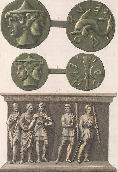 Le Costume Ancien et Moderne [Europe] Vol. 2 - III. Monnaie ou est represente Janus. Lucumon etc (1820)