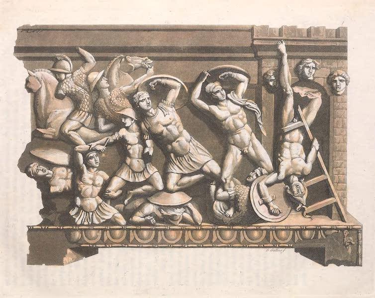 Le Costume Ancien et Moderne [Europe] Vol. 2 - VIL Armes defensives ; usage des pierres pour arme etc. (1820)