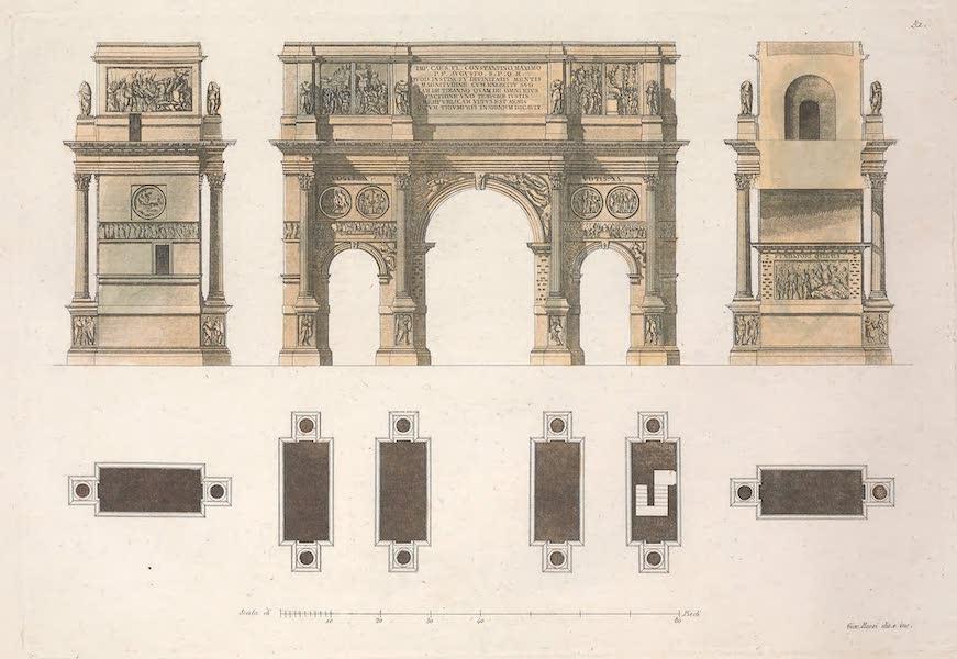 Le Costume Ancien et Moderne [Europe] Vol. 2 - LII. Interieur et exterieur de Saint Pierre [I] (1820)