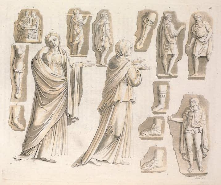 Le Costume Ancien et Moderne [Europe] Vol. 2 - LV. Habillement des Romains (1820)