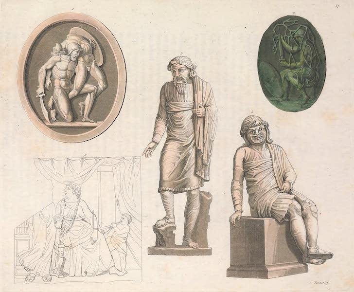 Le Costume Ancien et Moderne [Europe] Vol. 2 - LVII. Gladiateurs et histrions (1820)