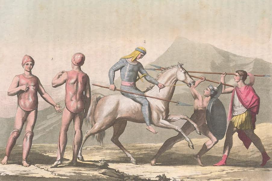 Le Costume Ancien et Moderne [Europe] Vol. 2 - X. Cuirasses etc. (1820)