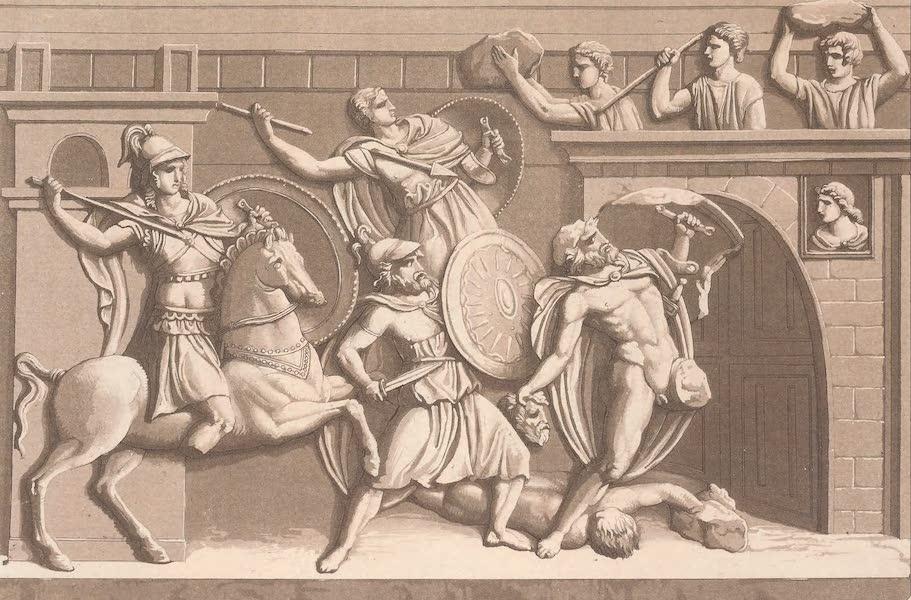 Le Costume Ancien et Moderne [Europe] Vol. 2 - XI. Cavaliers couverts d'une cuirasse en ecaille demetal etc. (1820)
