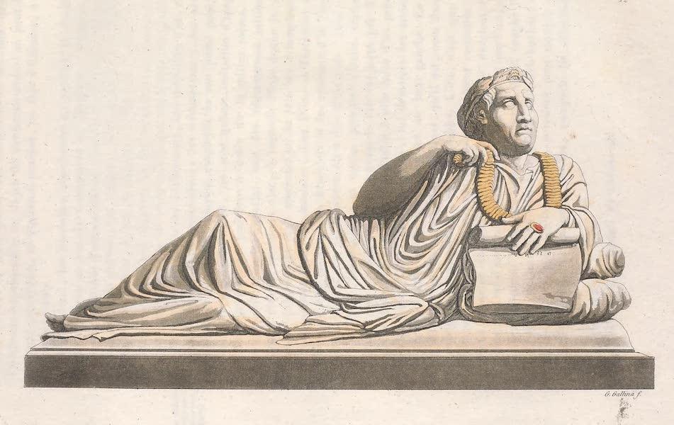 Le Costume Ancien et Moderne [Europe] Vol. 2 - XII. Personnage avec une couronne triomphale uncollier d'or et un anneau au doigt (1820)