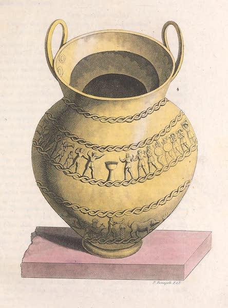 Le Costume Ancien et Moderne [Europe] Vol. 2 - XXI. Pompe d'un sacrifice avec danse armee  (1820)