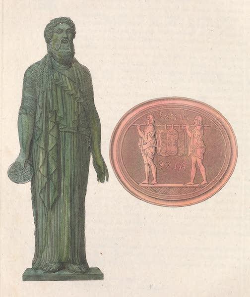 Le Costume Ancien et Moderne [Europe] Vol. 2 - XXII. Habits sacerdotaux, et deux Saliens (1820)