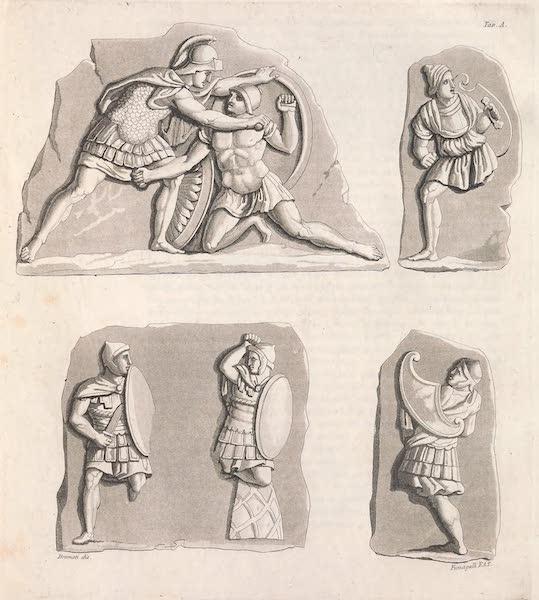 Le Costume Ancien et Moderne [Europe] Vol. 2 - XXII. A. Soldats avec des cuirasses differentes (1820)