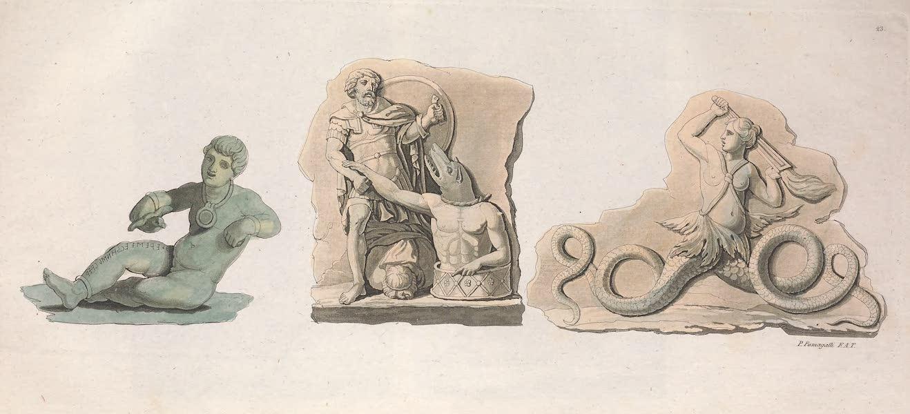 Le Costume Ancien et Moderne [Europe] Vol. 2 - XXIII. Tagete et monstres fabuleux (1820)