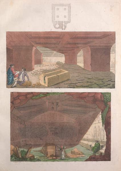 Le Costume Ancien et Moderne [Europe] Vol. 2 - XXV. Tombeaux de Tarquinia (1820)