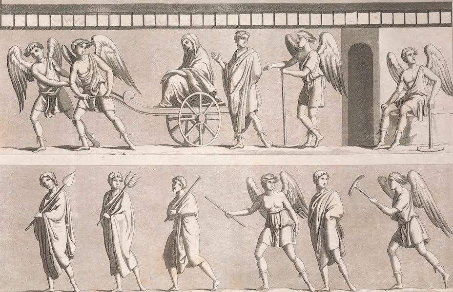 Le Costume Ancien et Moderne [Europe] Vol. 2 - XXVI. Figures peintes dans ces tombeaux (1820)