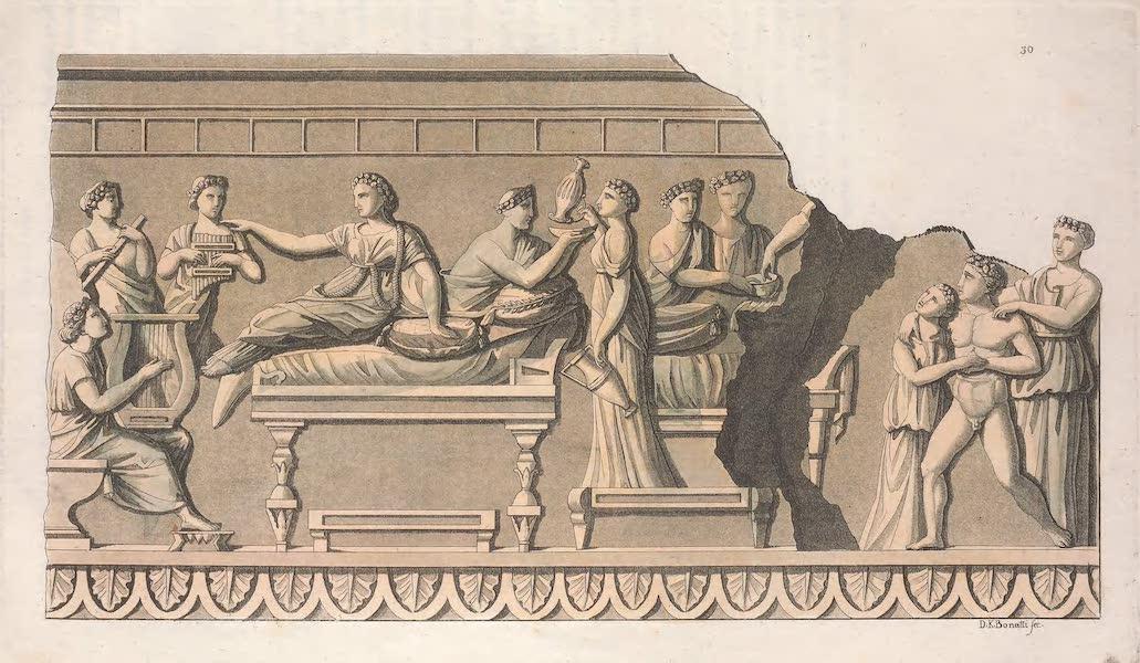 Le Costume Ancien et Moderne [Europe] Vol. 2 - XXX. Banquet (1820)