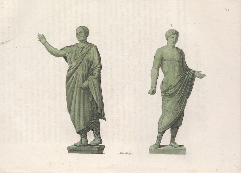 Le Costume Ancien et Moderne [Europe] Vol. 2 - XXXI. Tuniques, Loges et chassures (1820)